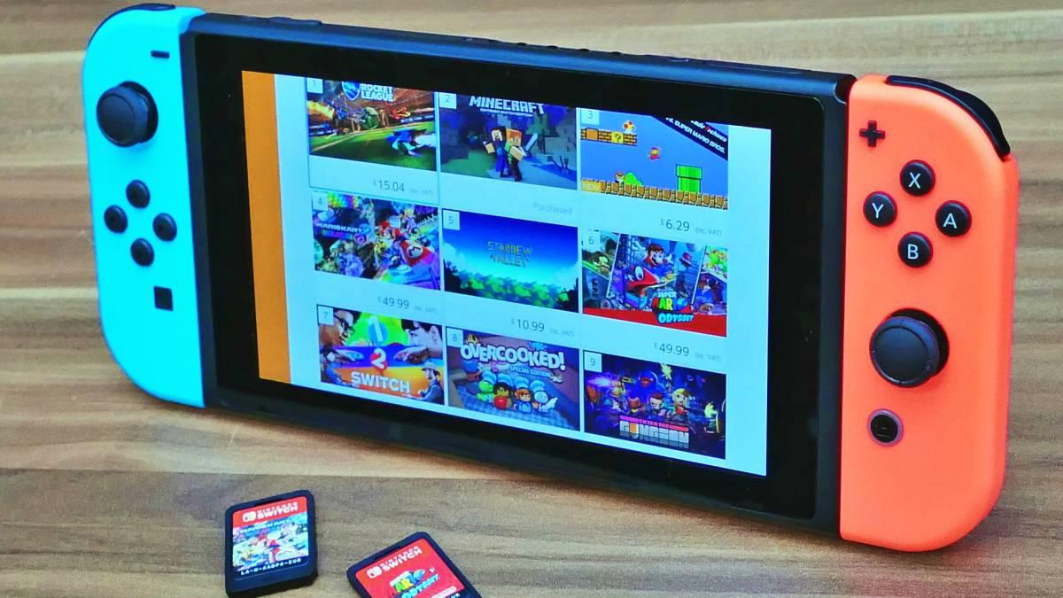 I giochi Nintendo Switch più votati su Amazon