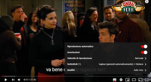 Come tradurre in italiano un video inglese su Youtube