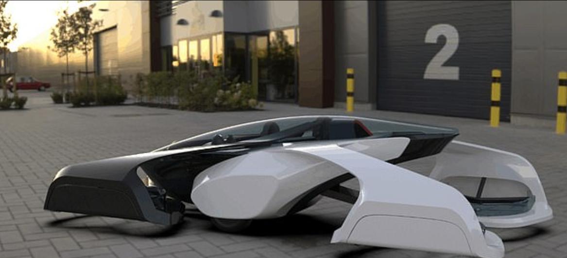 Una startup giapponese prototipa l'utilitaria volante