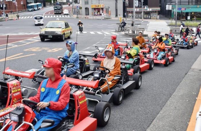 In Giappone il crowdfunding per noleggiare i Go-Kart di Mario Kart