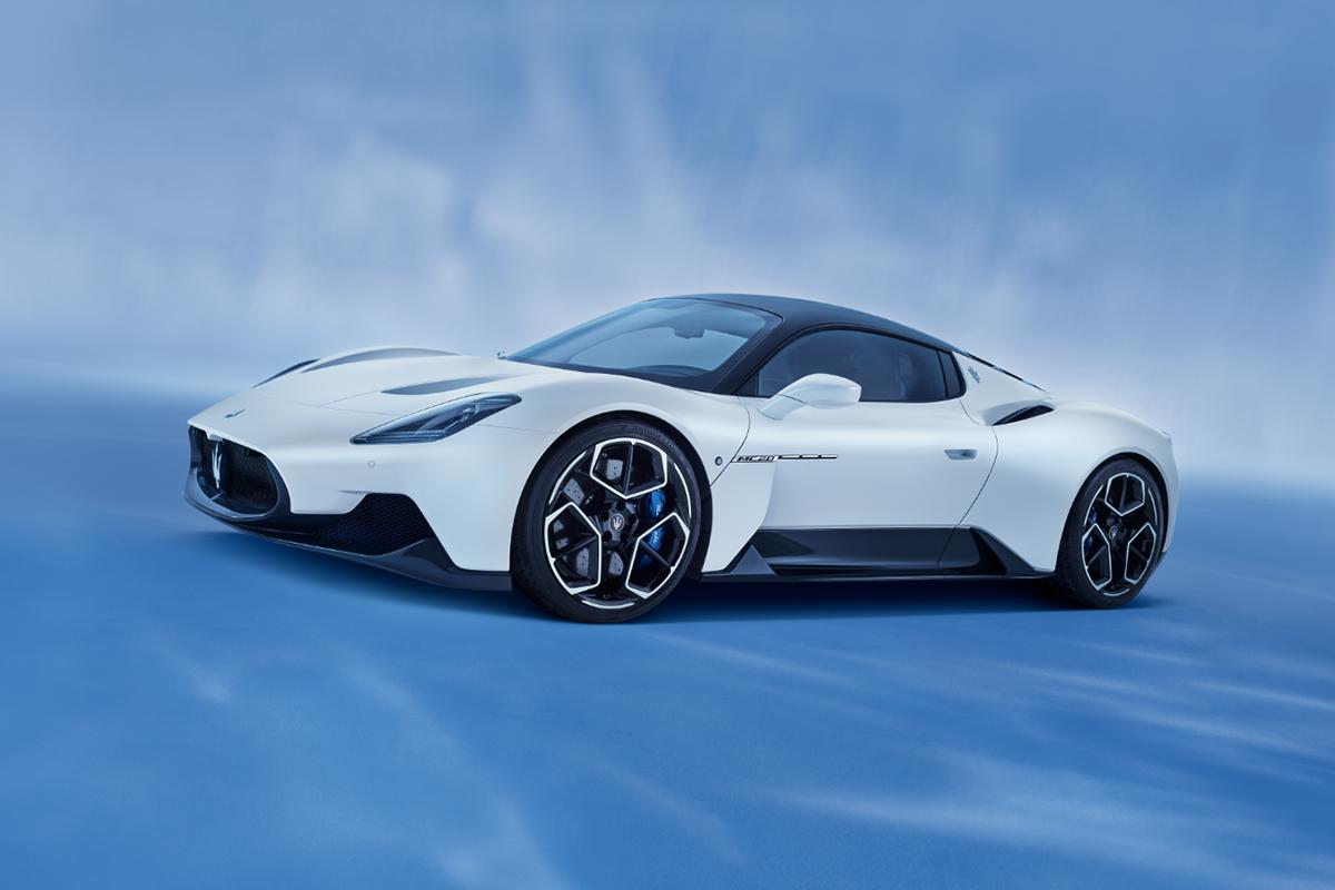 I pneumatici Bridgestone Potenza su misura per Maserati MC20