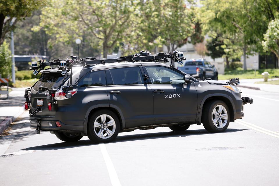 In California al via i test drive per l'auto che si guida da sola Amazon Zoox