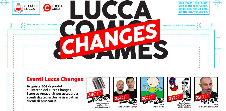 Il Lucca Comics & Games 2020 sbarca su Amazon