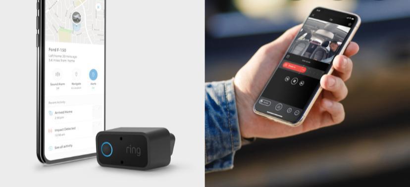Videocamera di sicurezza Ring Car Alarm