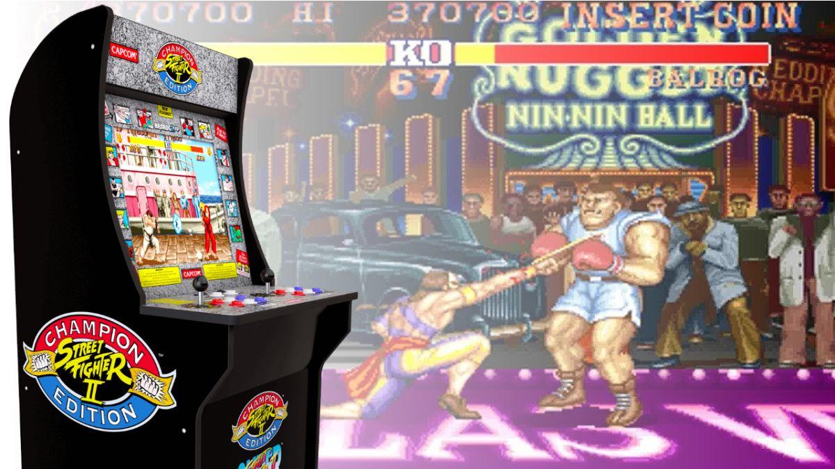 I videogiochi Arcade1Up anni 90 in vendita in Italia
