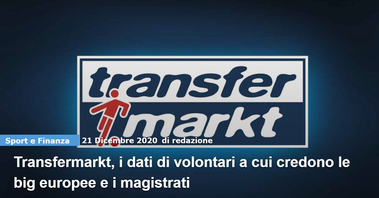 Come contattare Transfermarkt