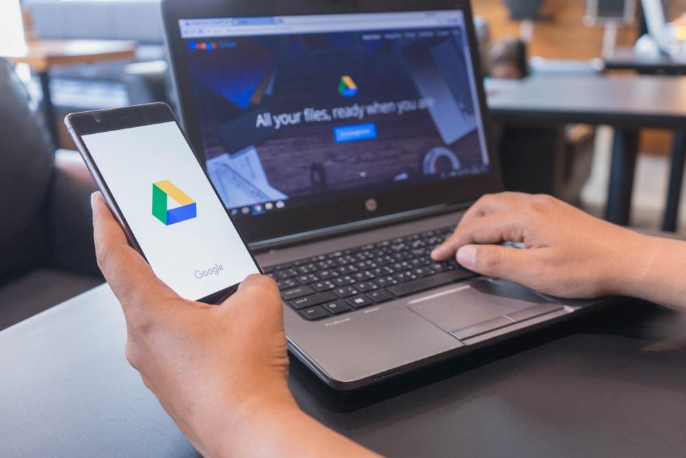 Salvare file direttamente nell'archivio di Google Drive