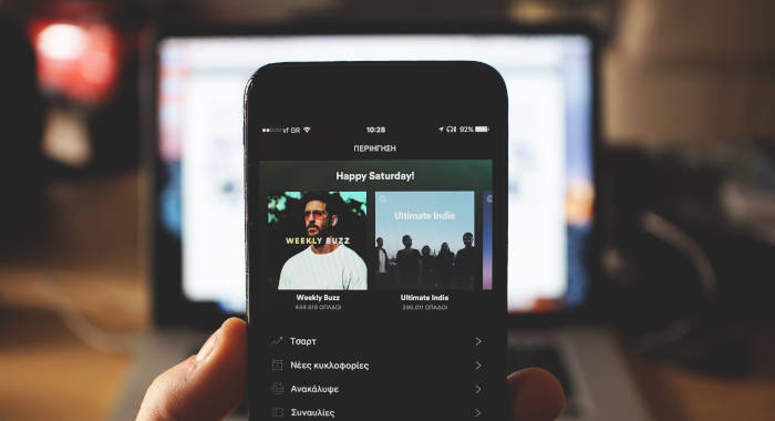 Dove vedere la classifica delle canzoni più ascoltate su Spotify