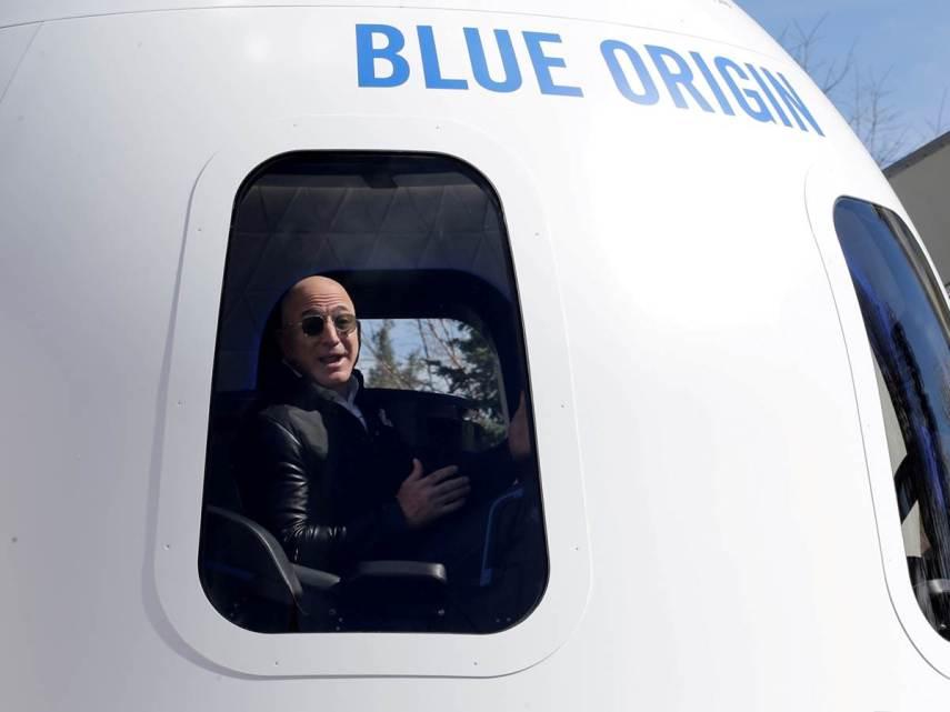 Alla conquista dello spazio, dove seguire la missione di Jeff Bezos