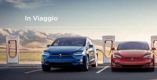 Tesla apre a tutti la rete dei Supercharger