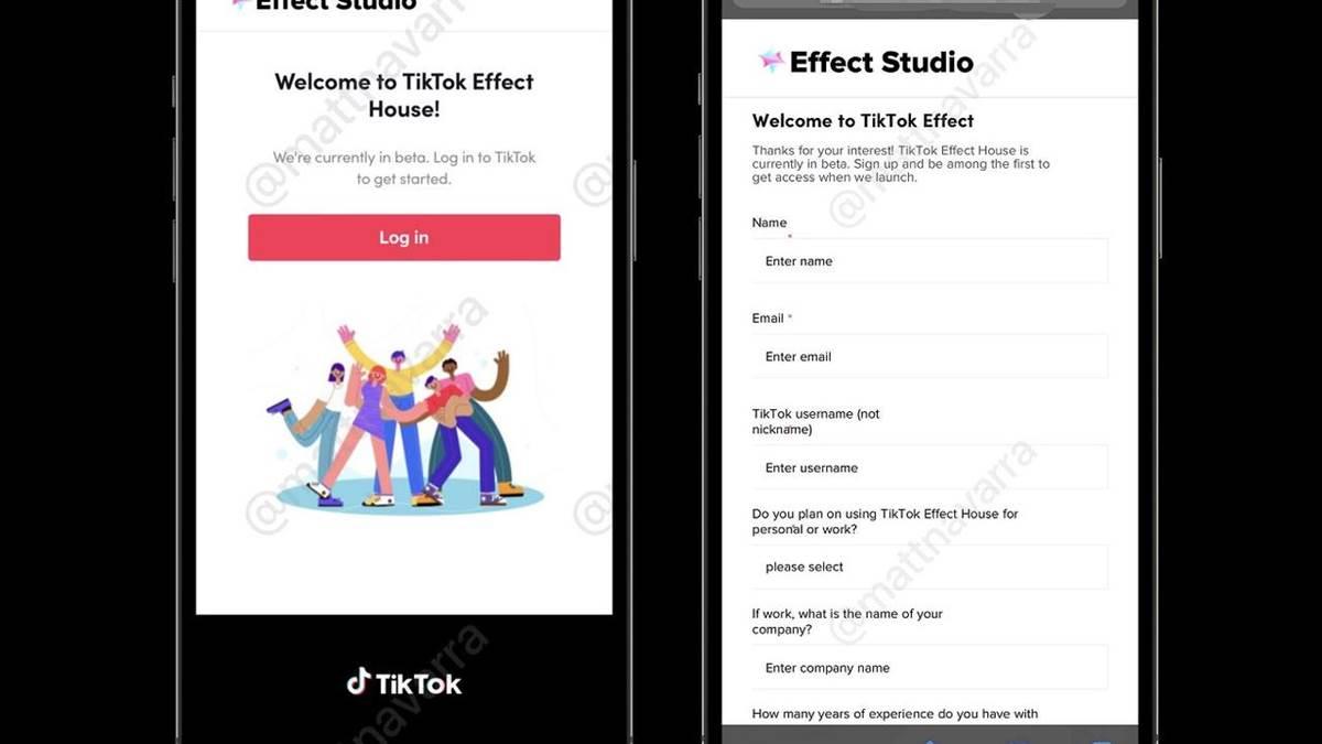 TikTok sta testando nuovi strumenti per la realtà aumentata