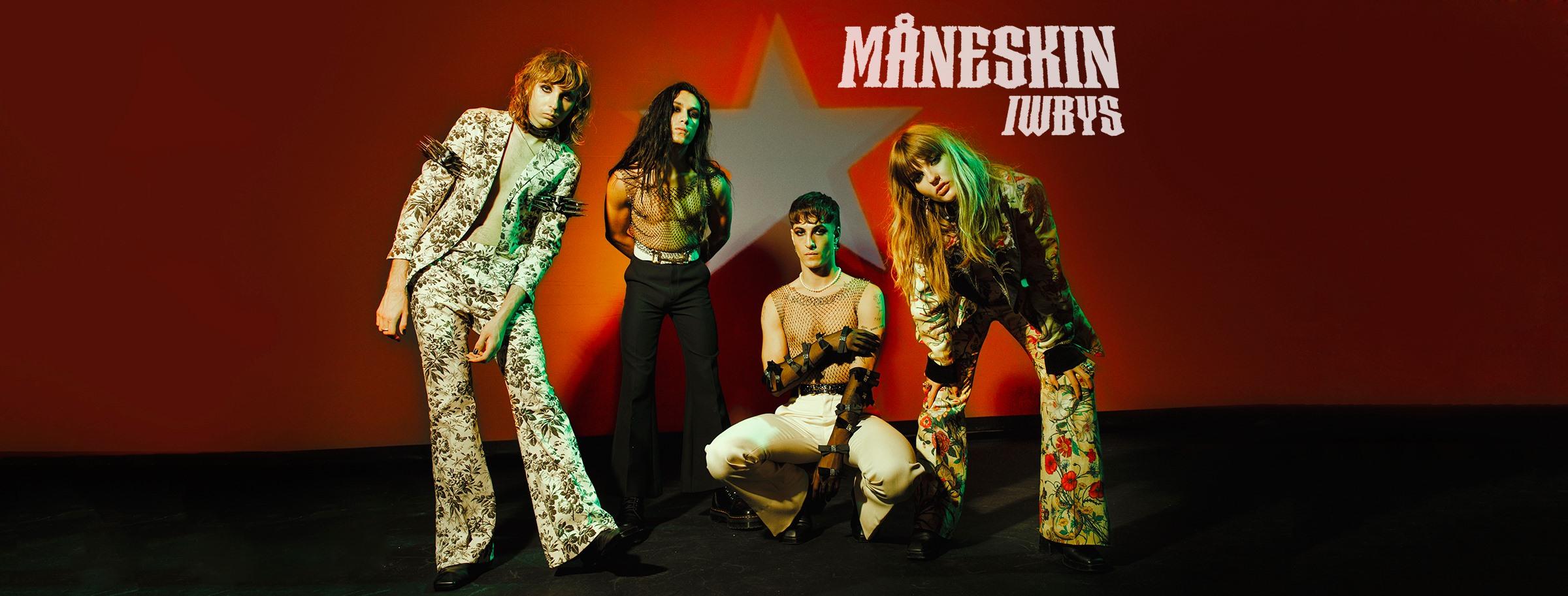 I Maneskin sono diventati la band più popolare tra i bambini su Internet