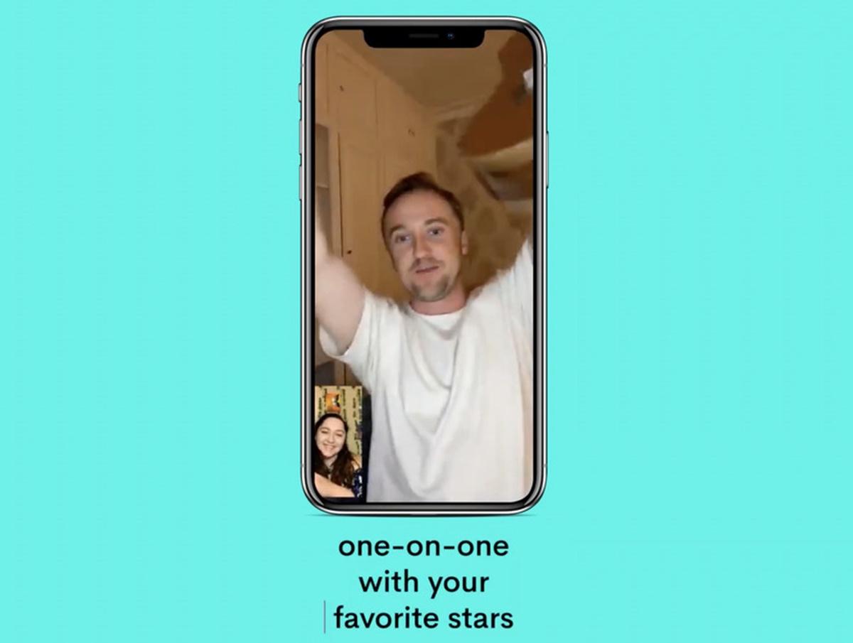 Ti piacerebbe fare una videochiamata con una celebrità?