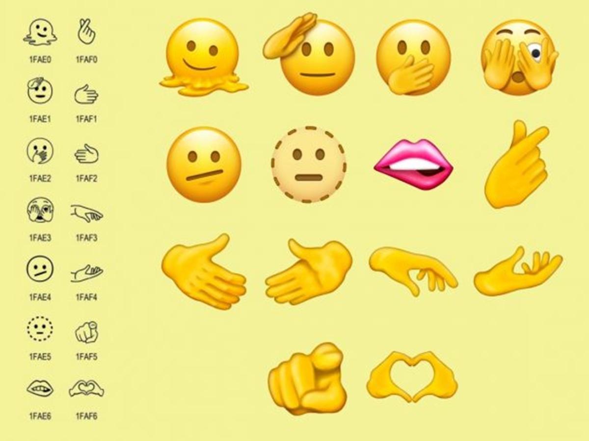 Scopri le 112 nuove emoji per il 2022