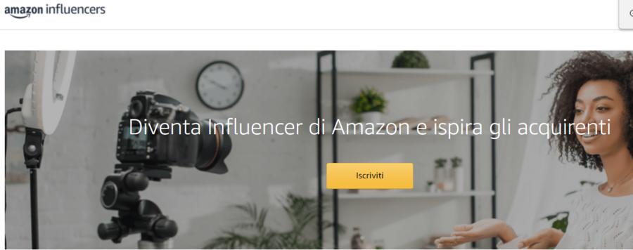 Scopriamo il programma Amazon per Influencer