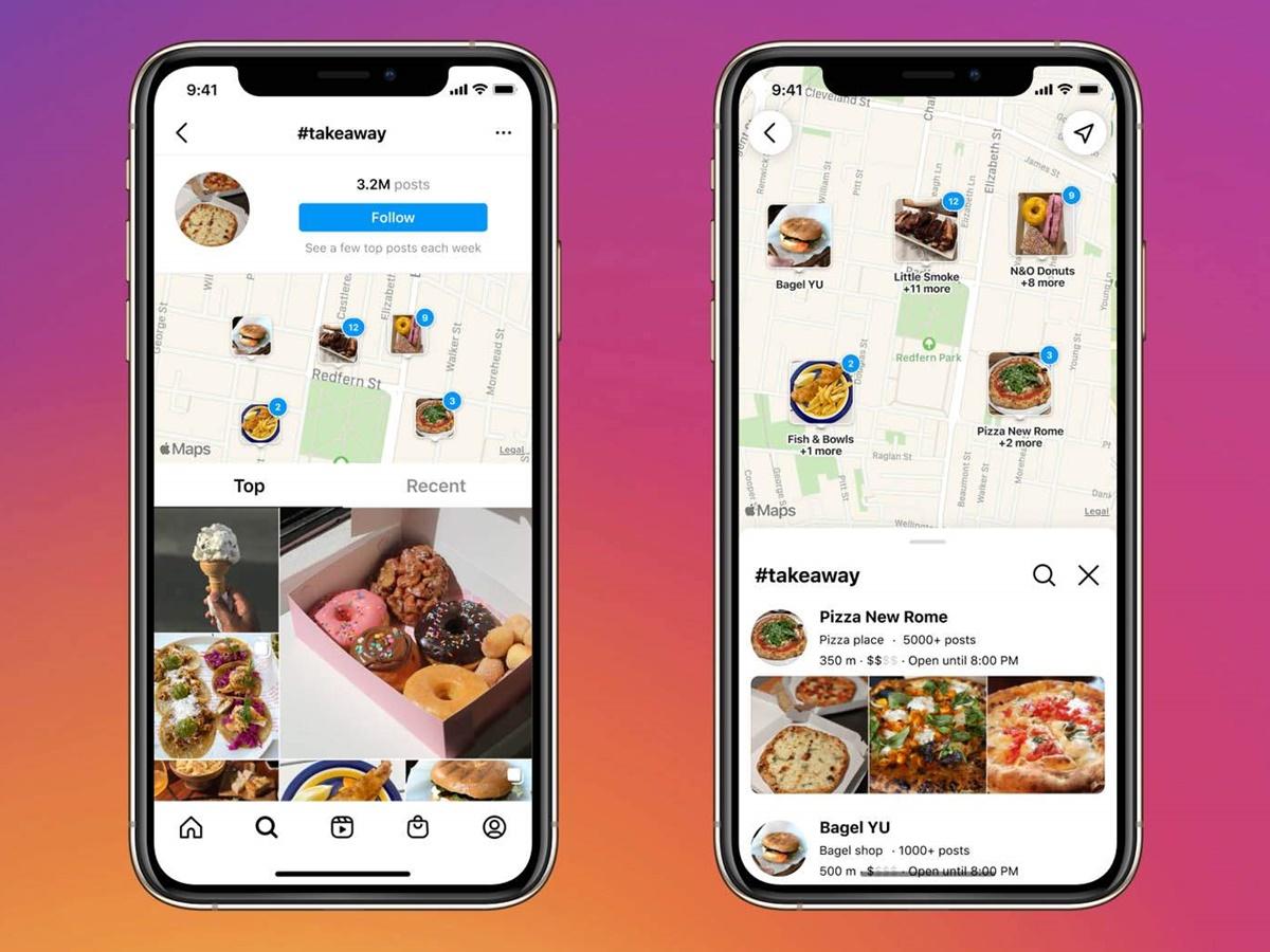 Instagram offre un nuovo strumento per scoprire le aziende