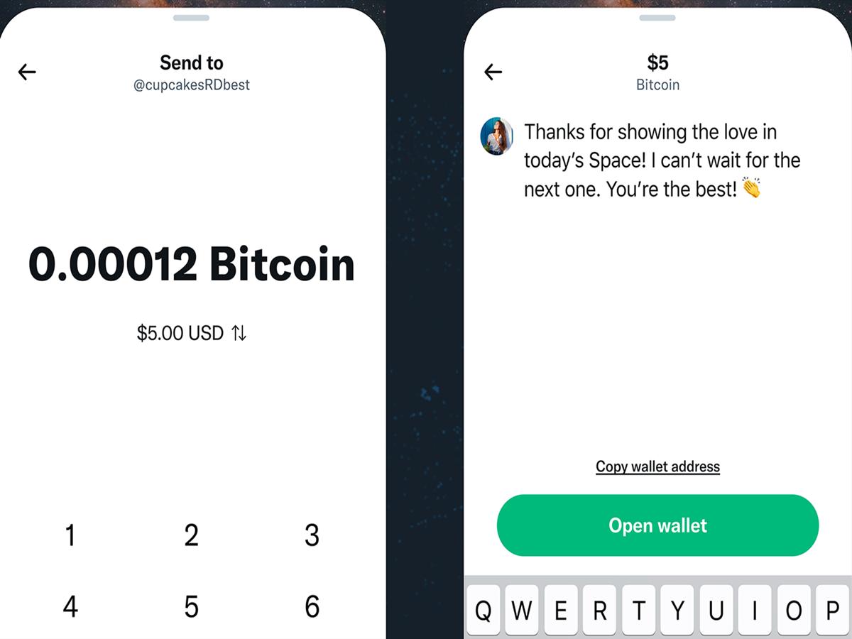 Twitter permetterà agli utenti di inviare e ricevere mance in Bitcoin