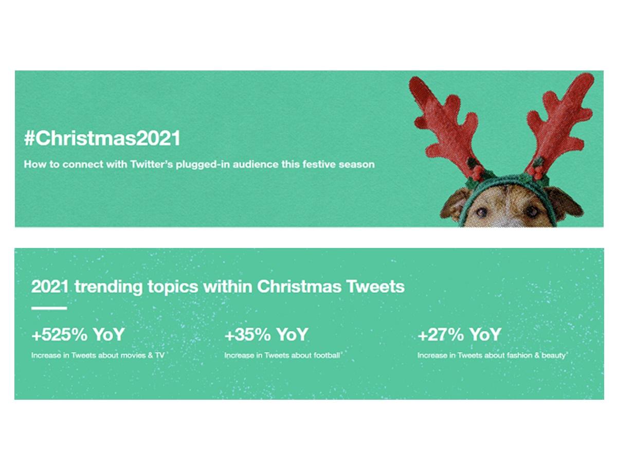 Twitter aggiorna l'hub di Natale per aiutare i marketer a pianificare le loro campagne natalizie