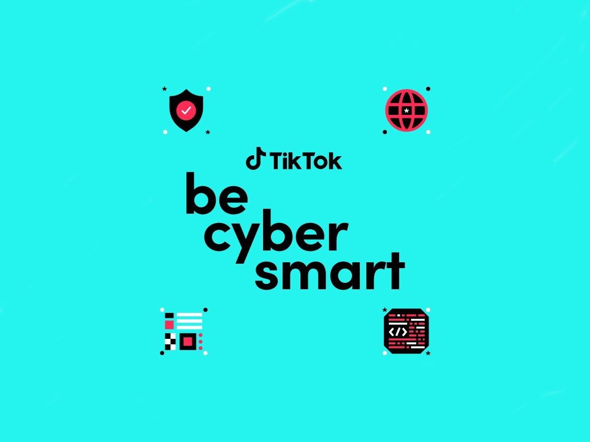 """TikTok lancia la campagna """"Be Cybersmart"""" per aiutare a migliorare la consapevolezza della sicurezza online"""