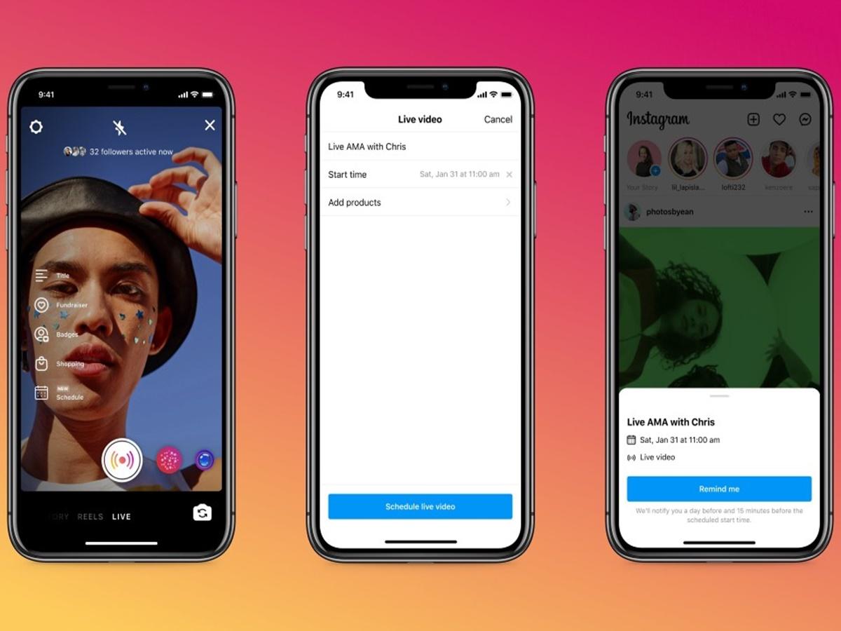 Instagram: ora puoi programmare le dirette video ed evitare brutte figure
