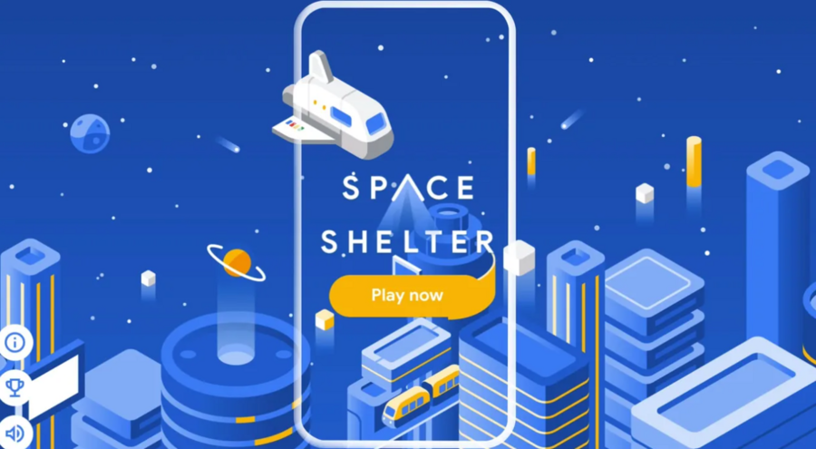 Google Italia lancia Space Shelter, il videogioco spaziale sulla cyber security