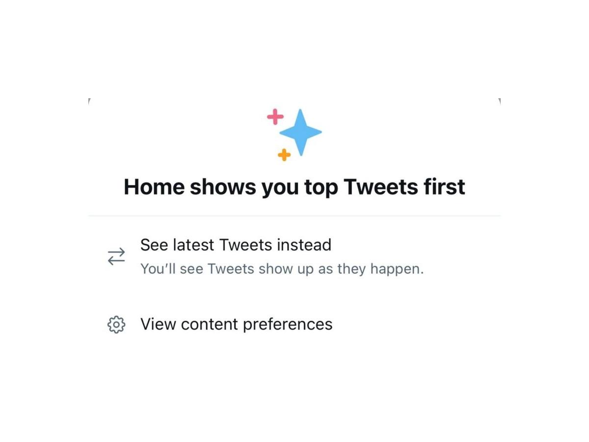Twitter sta testando un modo più semplice per passare cronologia inversa dei tweet