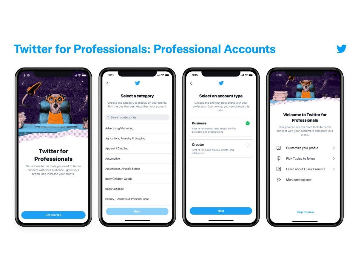 Twitter lancia gli account aziendali con funzionalità esclusive